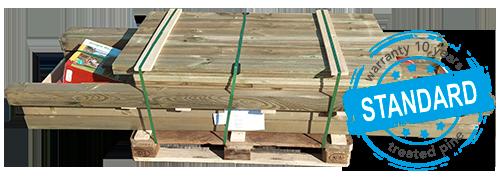 Pallet Pine Timber