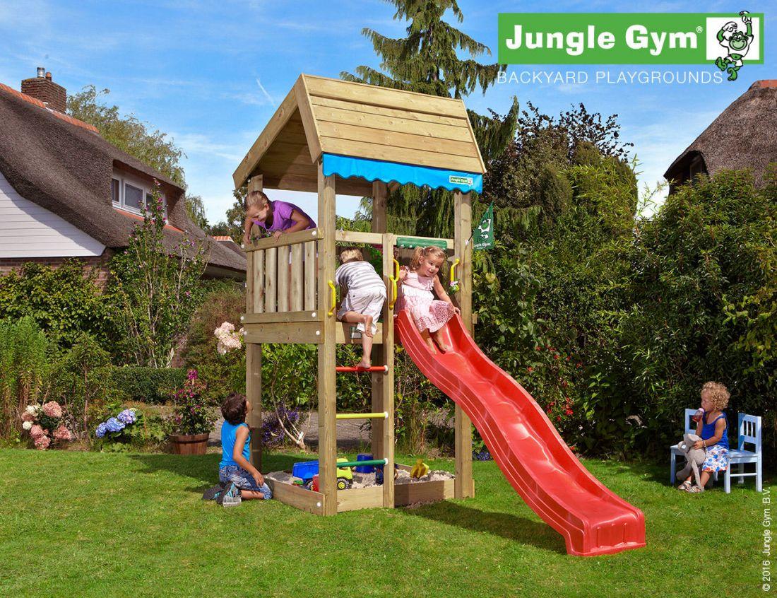 Hervorragend Welcher Spielturm Füu Kleinen Garten? DS01